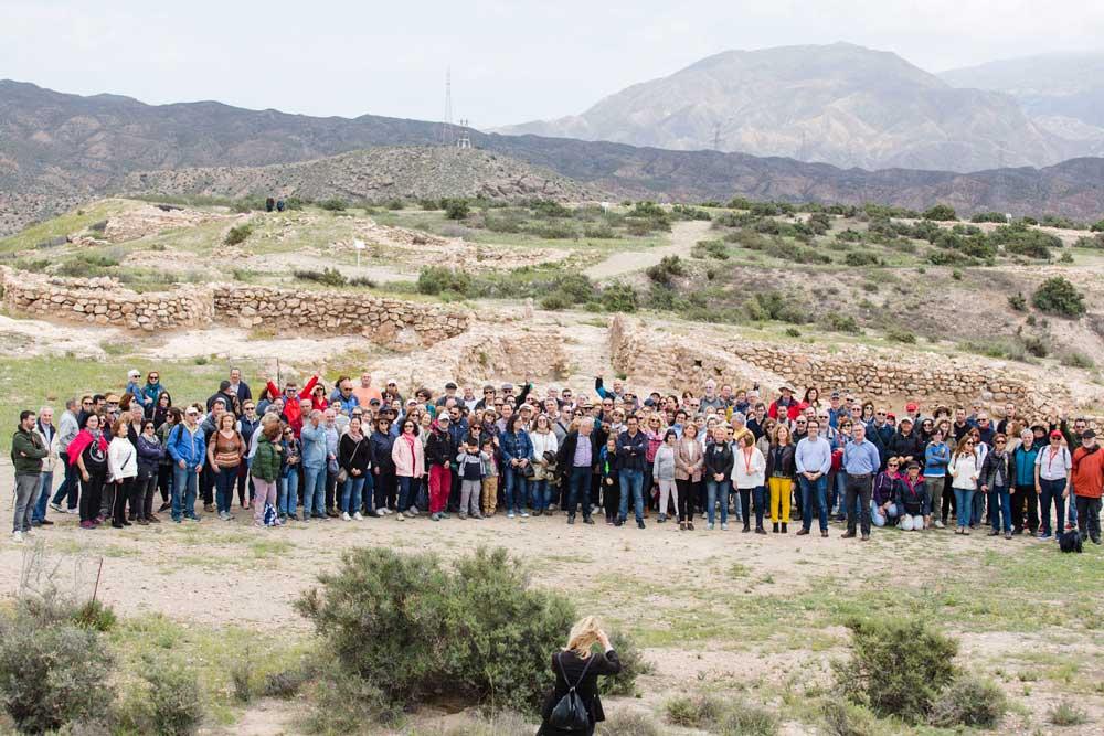 Instituciones y ciudadanos piden que Los Millares sean declarado como Patrimonio de la Humanidad.