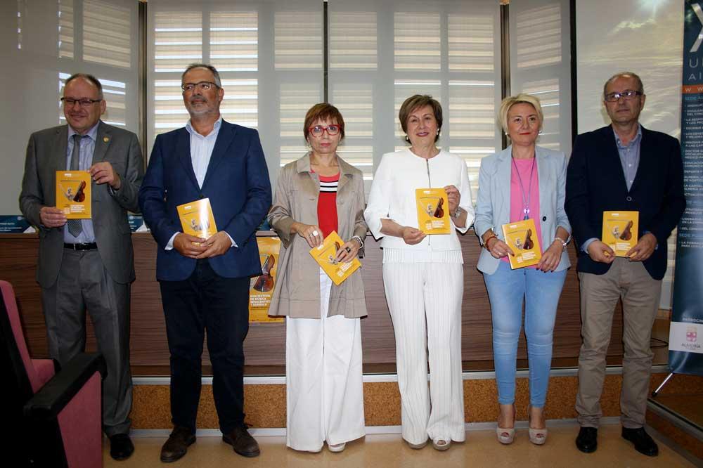 Presentación del Festival de Música Renacentista y Barroca de Vélez Blanco.