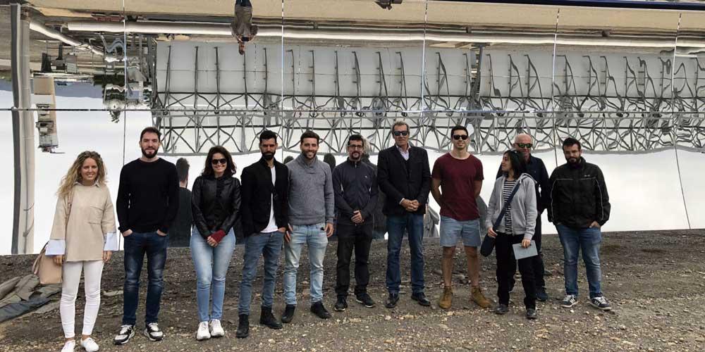 Alumnos del Máster en Energía Solar de la UAL
