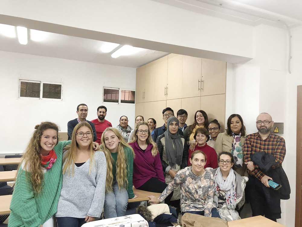 Alumnado del Máster en Diversidad Cultural de la UGR.