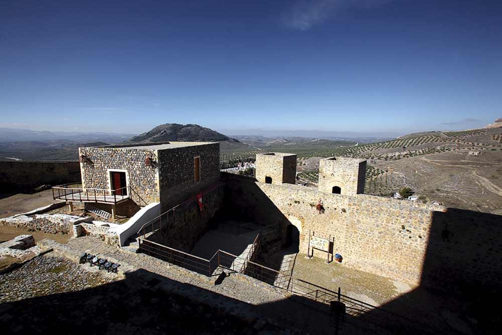 Castillo de Alcaudete, en Jaén