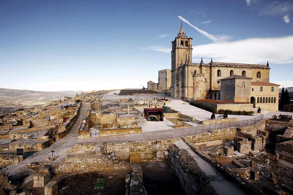 Castillo de la Mota, en Alcalá la Real, Jaén.