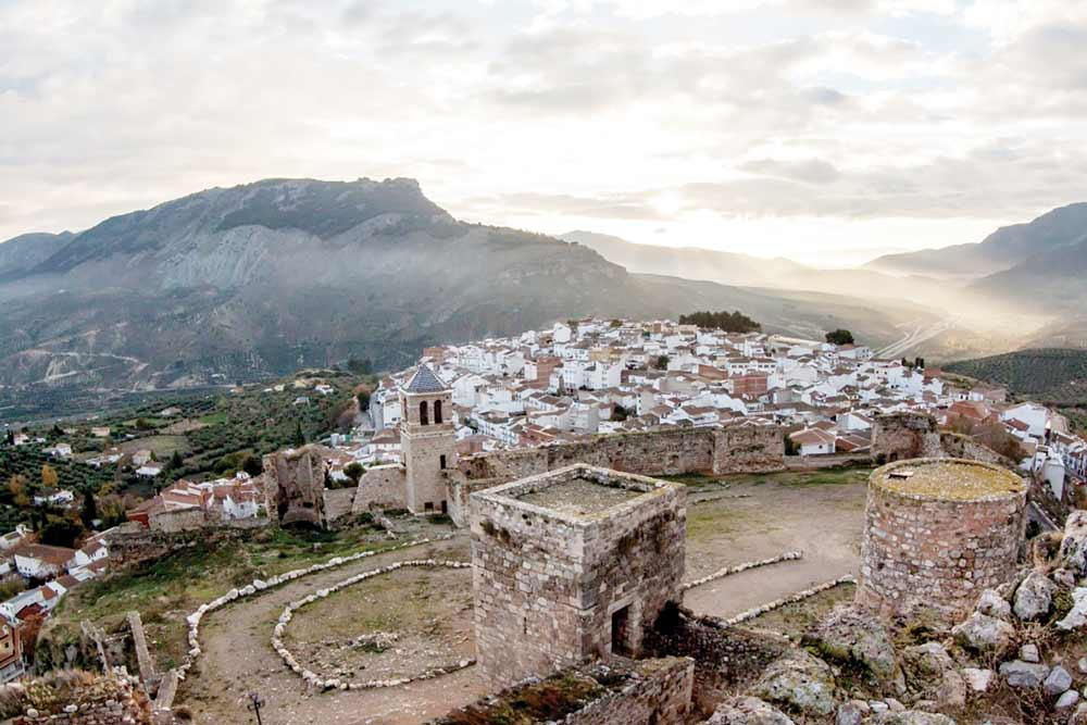 Castillo de La Guardia, una de las fortificaciones más destacadas de Jaén.