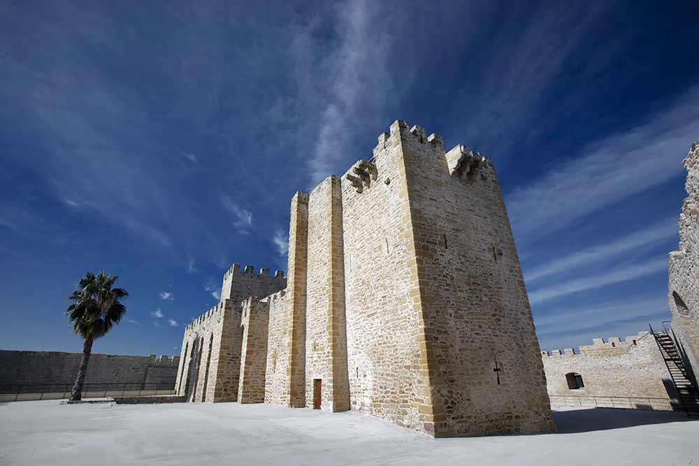 Castillo de Lopera, en Jaén.