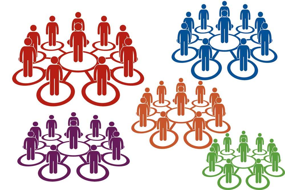 Gráfico que representa la actual discriminación política