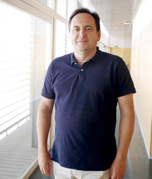 Juan García, vicerrector de Enseñanzas Oficiales y Formación Continua de la UAL