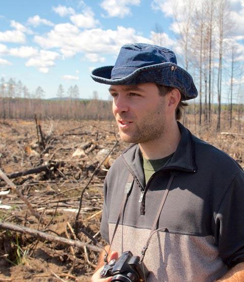 Alexandro B. Leverkus, investigador de la UGR.