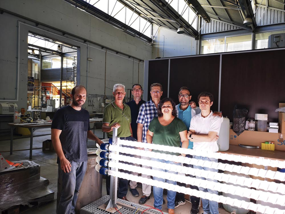 Grupo de investigación de biotecnología de microalgas marinas.