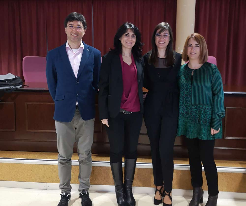 Bejamín Ivorra (UCM), Pilar Martínez Ortigosa (UAL), Míriam Ruiz (UAL), Juana López (UAL).