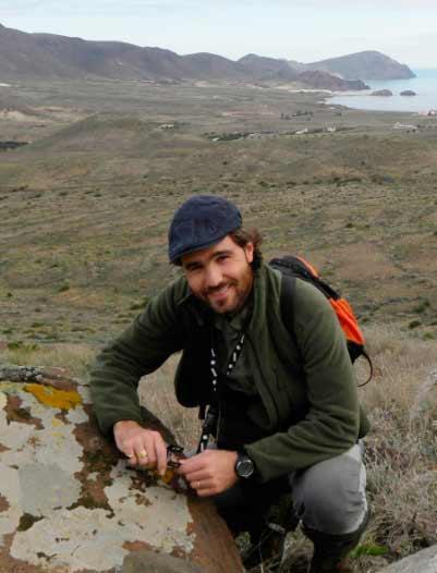 Juan Miguel Ruequena, autor de la investigación sobre los efectos de la agricultura intensiva.