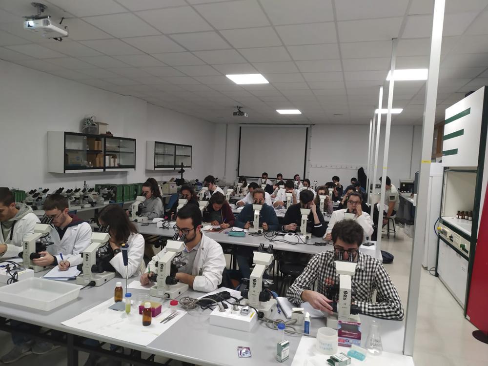 Estudiantes del Máster en Técnicas y Ciencias de la Calidad del Agua.