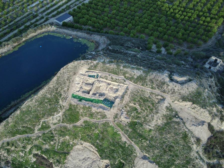 Yacimiento arqueológico de Los Saladares en Orihuela.