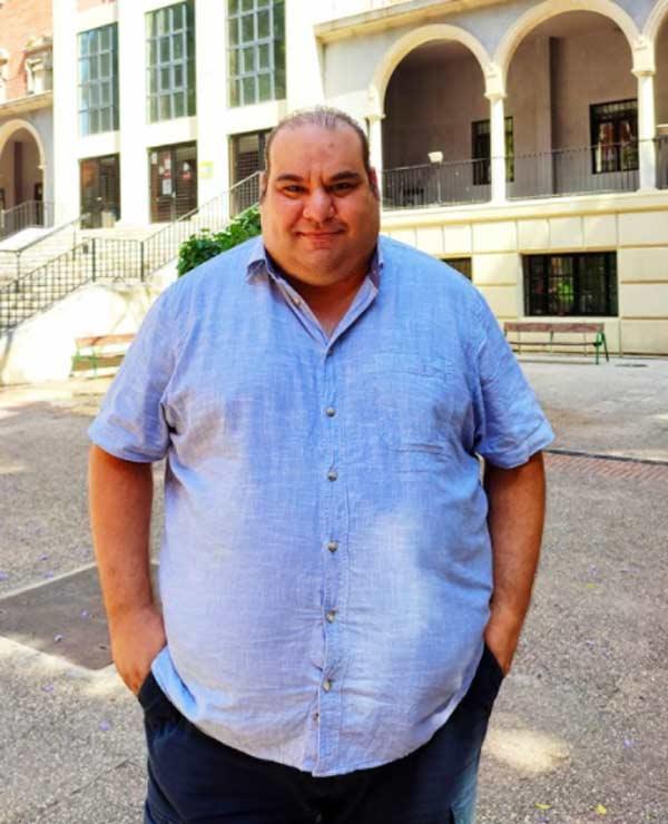 Rafael Sáchez, investigador que ha recuperado la historia del corral de comedias de Cartagena.