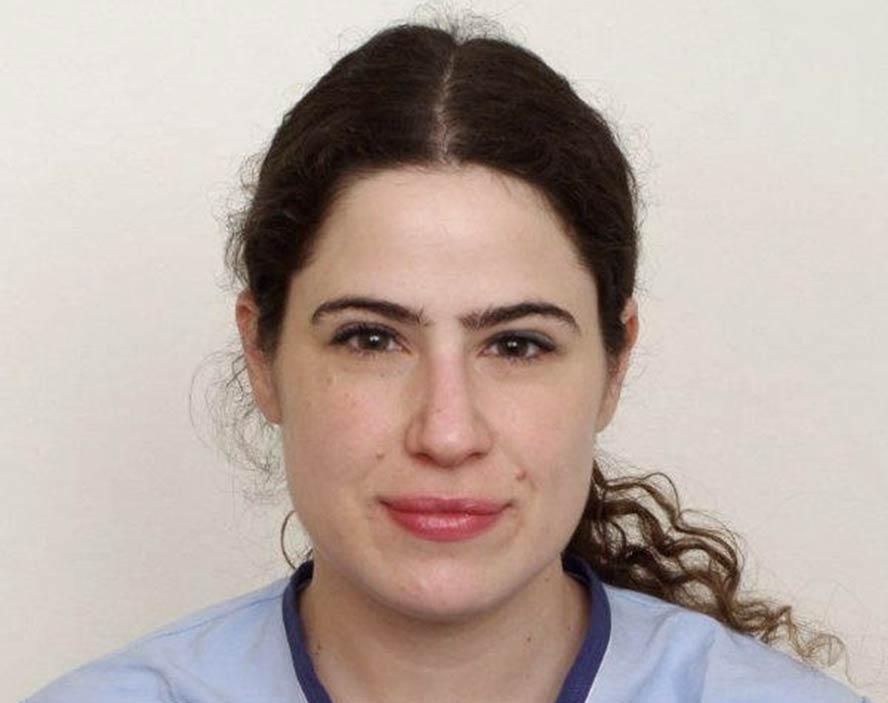 La profesora de la Facultad de Odontología de la Universidad de Chile Patricia Hernández.