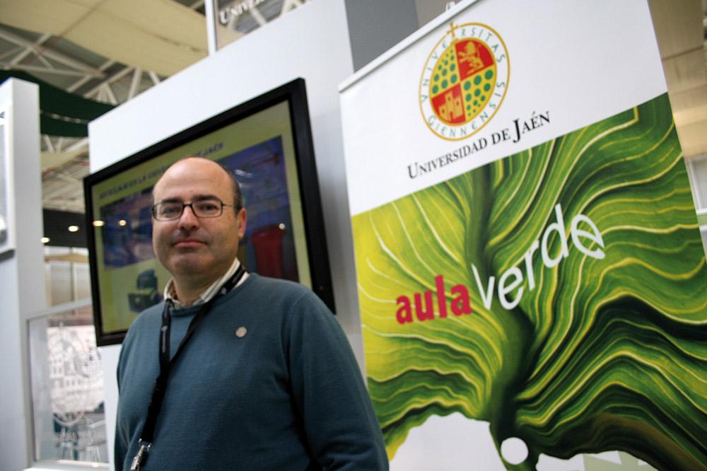 Francisco Guerrero, investigador de la Universidad de Jaén y defensor de la presencia de las pitas.