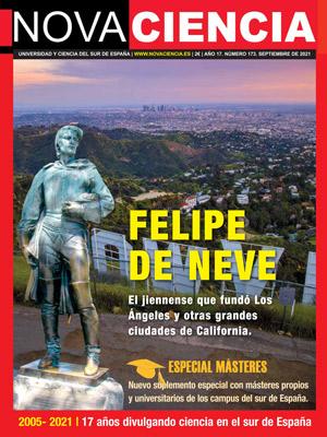 Portada de Nova Ciencia septiembre 2021. Felipe de Neve y especial de títulos de máster.