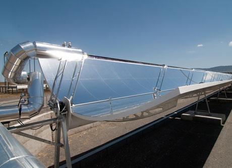 Una de los sistemas instalados en la PSA.