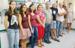 Grupo de Residuos de Plaguicidas que coordina el laboratorio de referencia europea.